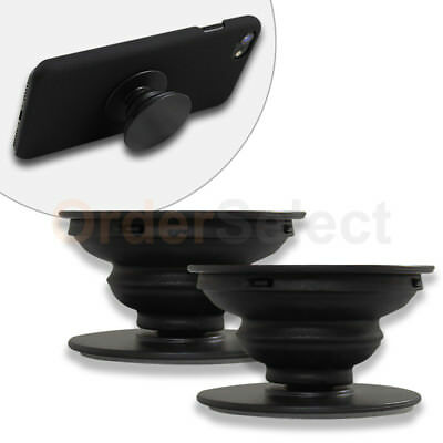 2X Pop Up Expanding Kickstand Hand Grip Phone Mount For Samsung S9 S9+ Plus