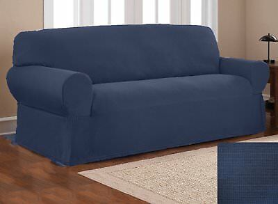 Miraculous Sure Fit Sofa Slipcover Simple Stretch Subway Storm Blue Unemploymentrelief Wooden Chair Designs For Living Room Unemploymentrelieforg