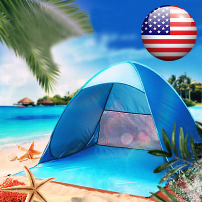 Portable Automatic Pop Up Beach Canopy Sun UV Shade Shelter Outdoor Camping Tent