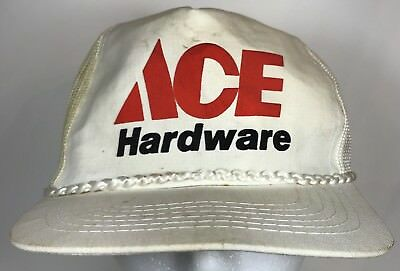 VINTAGE ACE HARDWARE Store Snapback Cap Embroidered Patch 5-Panel