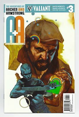 A&a Archer Armstrong (2016) #3 1:20 Oliver Variant Valiant Comics Vei Nm