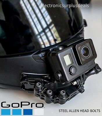 GoPro Helmet Mount Front Chin Genuine 3M Sticky GoPro Hero 3 4 5 6 Session