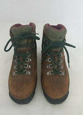 00b8eb6cf844f Cabela's Rimrock Gore-Tex Hiking Trail Hunting Brown Boots Women's US 8 B  EUC