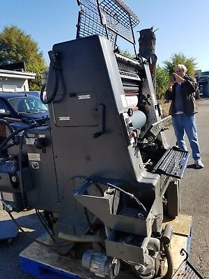 Heidelberg GTO 52  single color 1989 Kompac