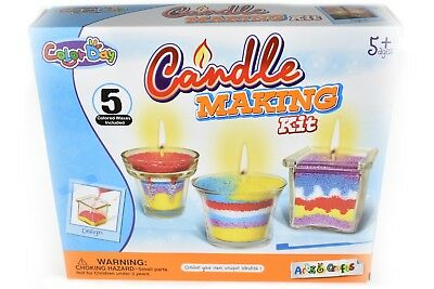 Candle Making Kits Kid Learning Color Art Toys