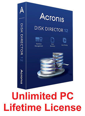 Acronis Disk Director 12 + Acronis Disk Director BootCD Lifetime - Fast Delivery