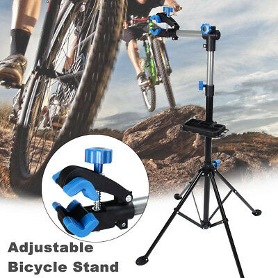 Adjustable 42.13'' To 68'' Bicycle Bike Repair Stand Rack Telescopic Arm