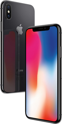 "Apple iPhone X 256GB Spacegrau LTE iOS Smartphone ohne Simlock 5,8""Display 12MPX"