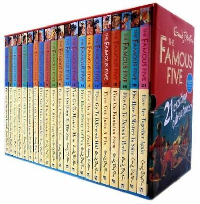 Famous Five Complete 21 Books Collection by Enid Blyton (Paperback, 2012)