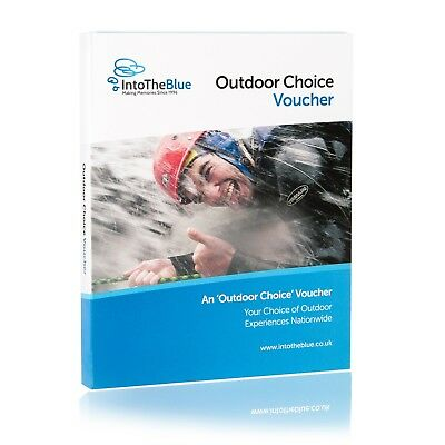 £50 Outdoor Choice Activity Gift Voucher - Valid for over 100 experiences
