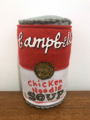 Lucy Sparrow / Campbell's Chicken Noodle Soup / from the Corner Shop
