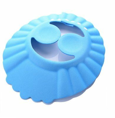 (Mod.3Blue) Headphone for Bath and Shower protteggi Eyes and Ears For Children