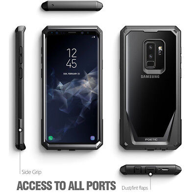 "Poetic Guardian ""Rugged Heavy Duty"" Case For Galaxy S9 / S9 Plus / Note 8"