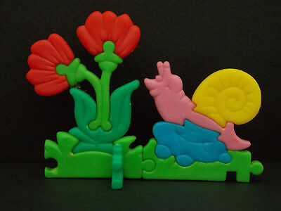 Jouet kinder Puzzle 3D Escargot K95 27 France 1994