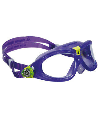 Aqua Sphere Seal Kids 2 Goggles - Boys Girls Mask Swimming Violet