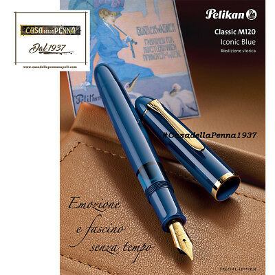 Penna PELIKAN Ogiva Verde e Nera classic restyling M120 Special Edition