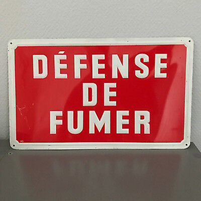 French Street METAL Sign Plaque - NO SMOKING 27031828