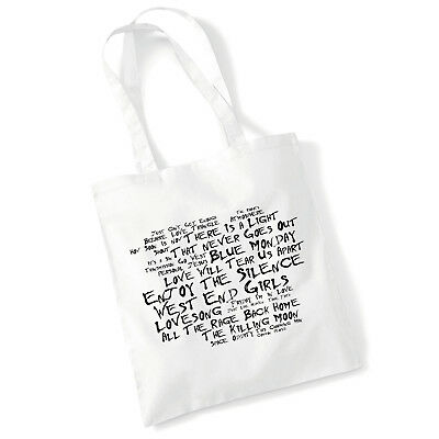 Art studio tote BLACKOUT Vol 1 bag by LAS, genre inspired by Depeche Mode