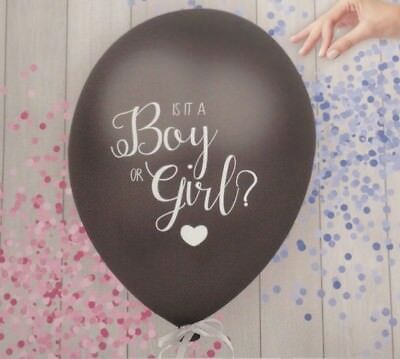 Gender Reveal Balloon, Boy or Girl? Baby Shower Party