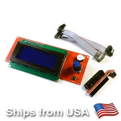 Smart LCD 2004 Display Controller for RAMPS 1.4 RepRap 3D printer Electronics