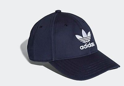 NEW Adidas originals classic trefoil baseball cap hat mens women blue strap back