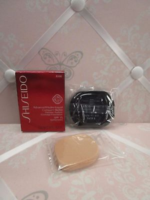 Shiseido Sheer Matifying Compact Refill Very Deep Beige B 100 .34 Oz. Boxed