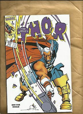 The Mighty Thor 337 2nd print 2006 promo giveaway Beta Ray Bill Marvel Comics
