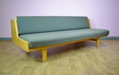 Mid Century Retro Danish Hans J. Wegner for Getama Model GE 258 Sofa Day Bed 70s