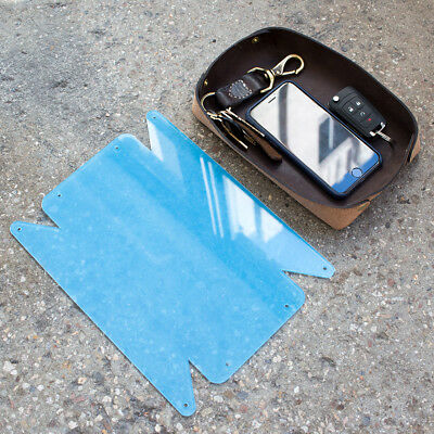 Leather Valet Tray Acrylic Template - Leathercraft Pattern