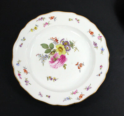 "Meissen Flowers & Insects ~ 10"" Dinner Plate(s)"