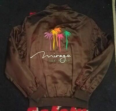 vintage las vegas mirage casino jacket
