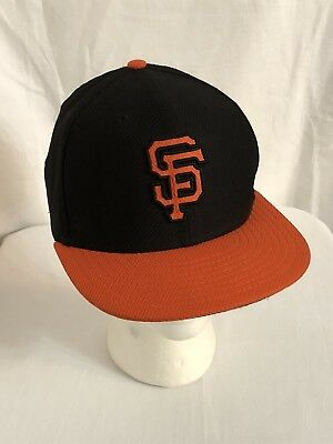 best new era 59fifty san francisco giants mlb hat cap fitted size 7  official on field a42d79c8aba7