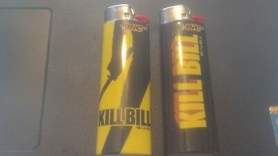 (2) Kill Bill Full Size Bic Disposable Lighters