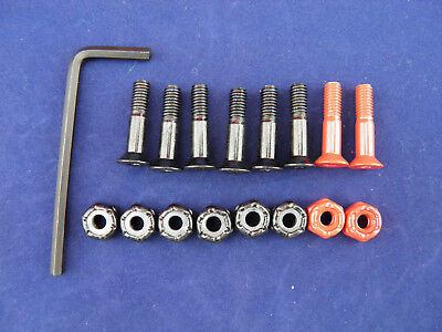 "Allen Skateboard Hardware 1"" with indicator bolts"