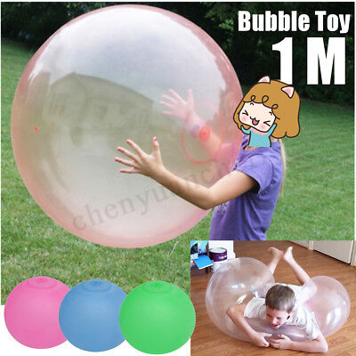 1M 40kg Inflatable Rubber The Amazing Tear Resistant WUBBLE Bubble Ball Toy