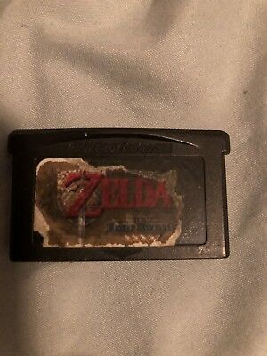 Legend of Zelda: A Link to the Past Four Swords Nintendo Game Boy GBA AUTHENTIC