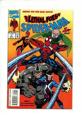 The Lethal Foes of Spiderman #1 (1981) NM- 9.2