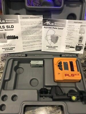 Pacific laser Systems PLS SLD Detector, Clamp And Case. Never Used.