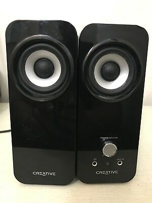 Creative Inspire T12 2.0 Multimedia Speaker System with Bass Flex Technol