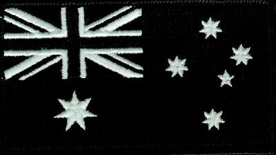 Australian Flag ANF Embroidered Patch with Glow in Dark Thred