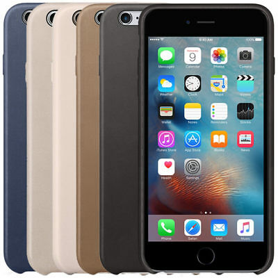 Apple Slim Leather Case Cover for iPhone 6 Plus & 6S Plus Brand New Genuine