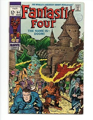 FANTASTIC FOUR # 84  VFN Doctor Doom 1969