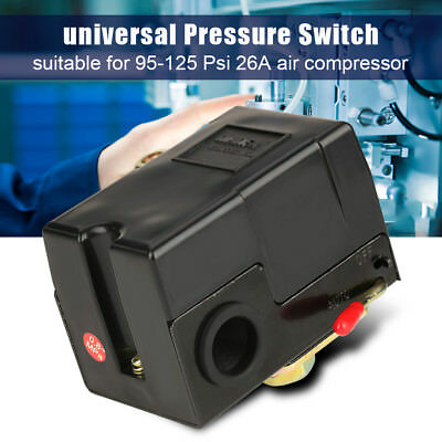 Universal Pressure Switch 95-125 Psi For Air Compressor Pump Control Valve New