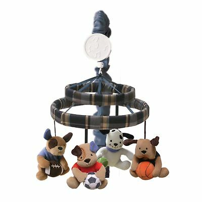 Lambs & Ivy Bow Wow Buddies Musical Mobile