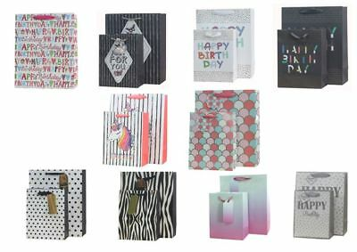5 High Quality Paper Gift Bags in 10 Designs Size:18x23x10cm