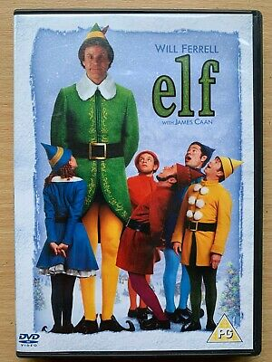 Elf DVD ~ 2003 Chrismtas Comedy Classic starring Will Ferrell UK 2-Disc