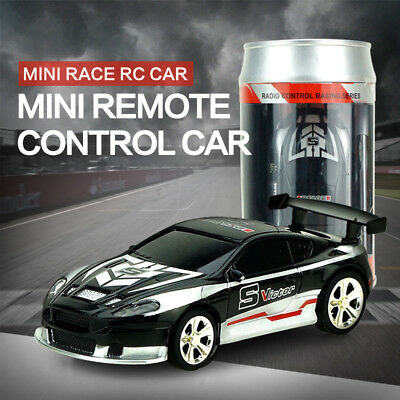 Coke Can Mini RC Car 4 Channel Radio Remote Control Racing Car 1:58 Scale Toys