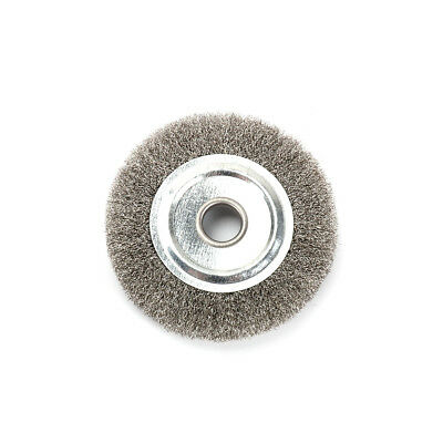 Awe Inspiring 4 Inch 16Mm Arbor Stainless Steel Wire Wheel Brush For Bench Caraccident5 Cool Chair Designs And Ideas Caraccident5Info