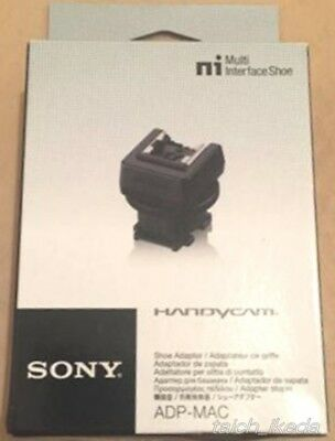Sony ADP-MAC Multi Interface Shoe Adapter JAPAN New with tracking number