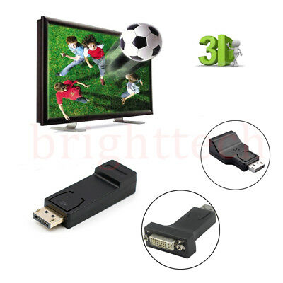 BEST Display Port DP Male To Female HDMI Adapter Converter For 1080P HDTV be LOT